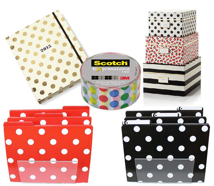 Exceptional Office Supplies In Your Favorite Prints. Dots, Polka Dots, Plus Many More.