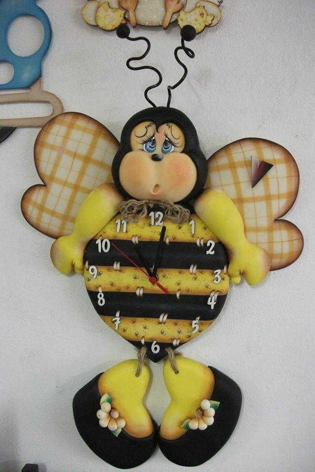 Reloj abeja