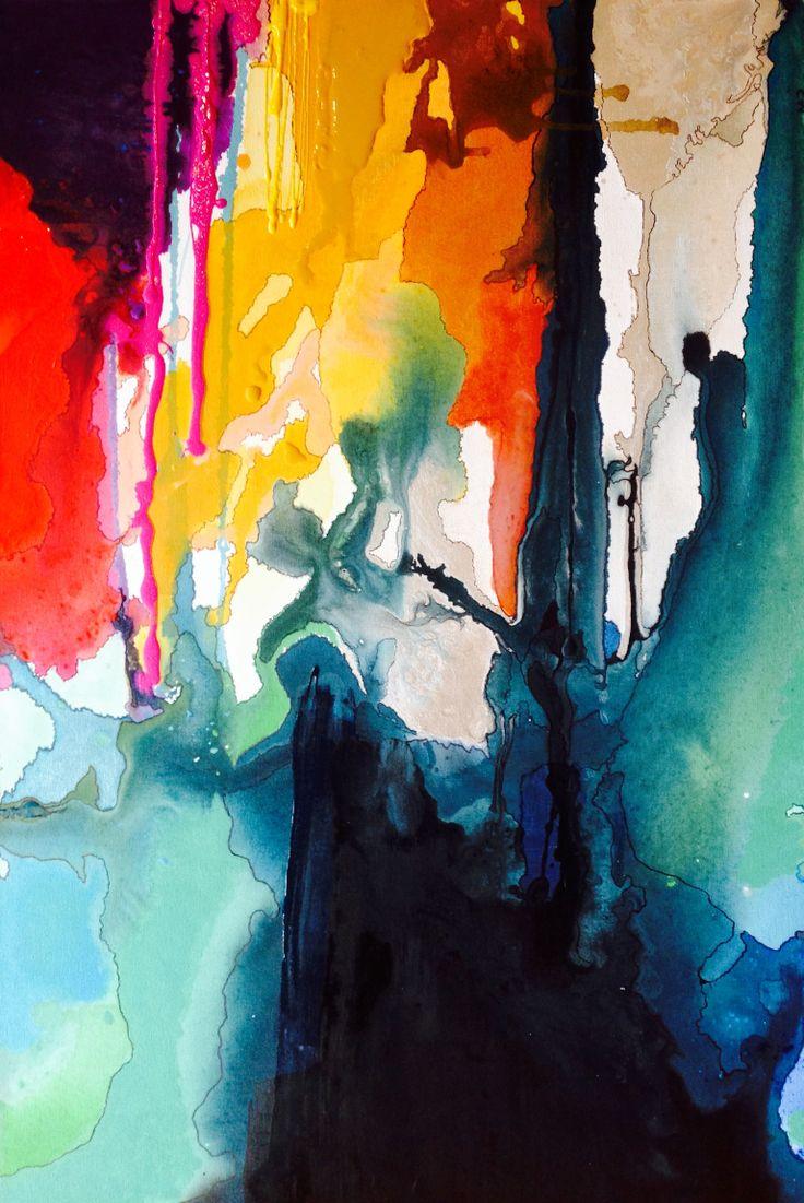 '727' acrylic on canvas