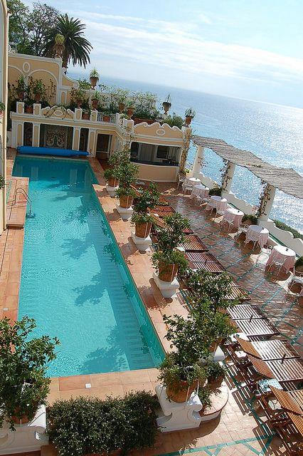 La Sirenuse Positano Italy Amalfi Coast Pinterest And