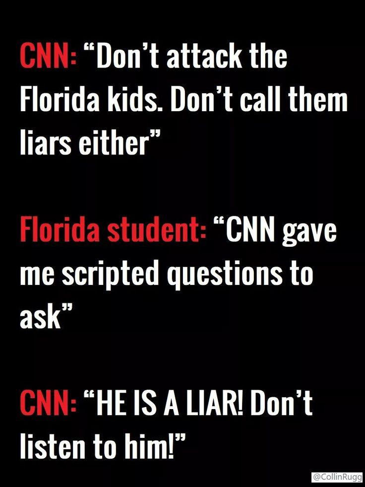 That's CNN, Fake News, Hypocrites and Liars!