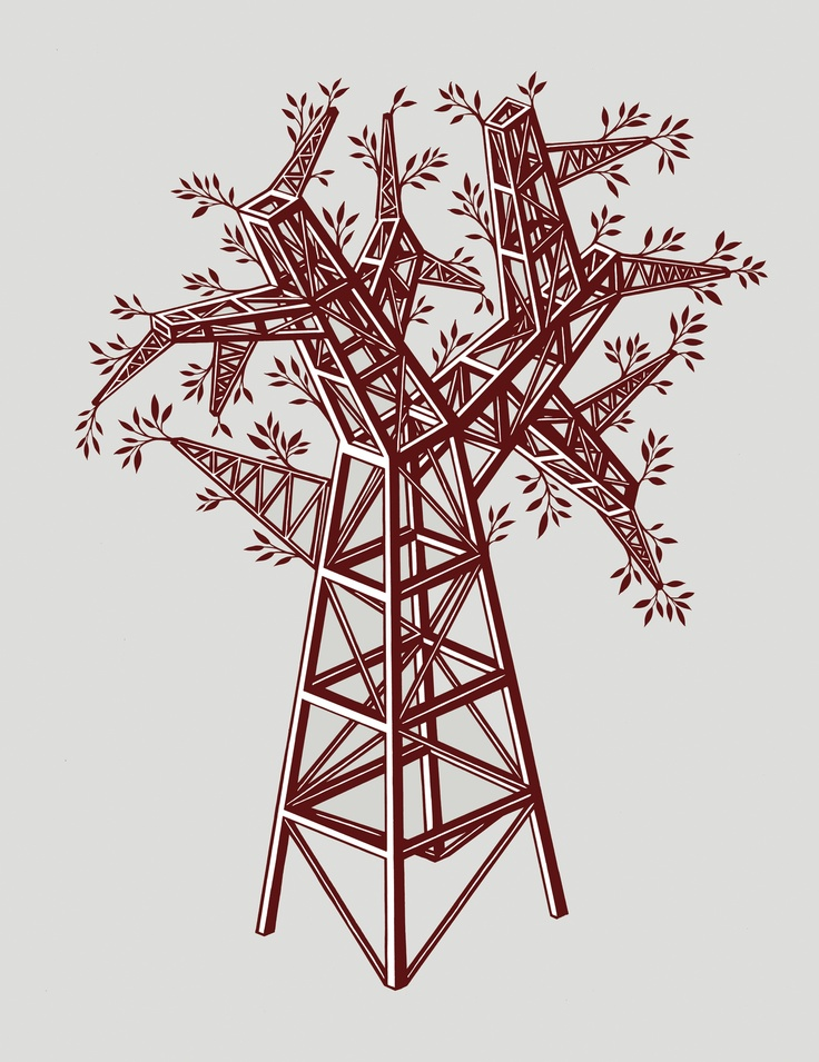 Tree Pylon by Nick Dewar
