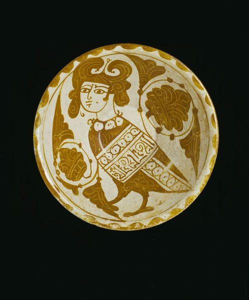 Bowl Place of origin: Egypt (possibly, made) Syria (possibly, made) Date: 1200-1250 (made) Artist/Maker: Unknown Materials and Techniques: Earthenware with lustre painting on an opaque white glaze