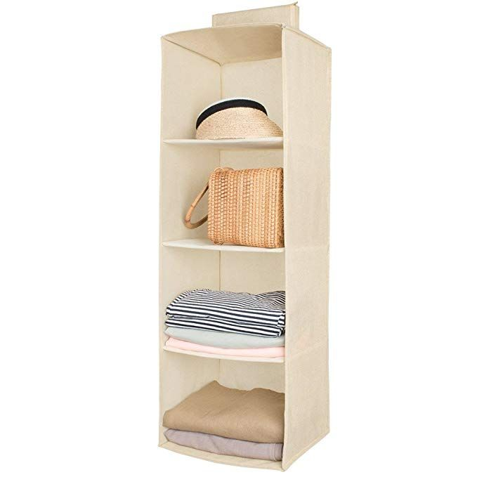 Hanging Closet Organizer Sweater Sock Organizer With A Hook And