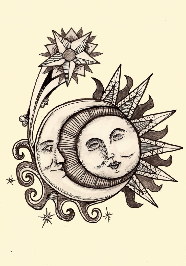 1000 images about sun moon stars draw doodle on pinterest. Black Bedroom Furniture Sets. Home Design Ideas