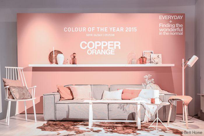 Binti Home Blog: Stylingproject : Stijlkamers trendkleuren 2015 Flexa Colour futures trendboek