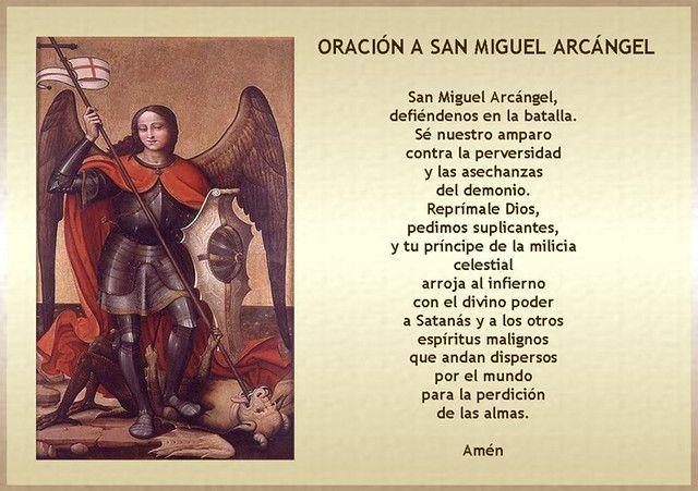 Oración A San Miguel Arcángel In 2020 Book Cover San Miguel Photo