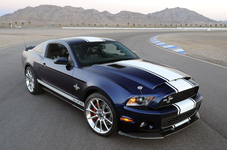 2017 Ford Mustang Shelby GT500 black color design front view design pictures