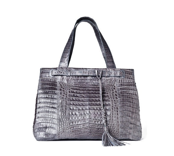 #Crocodile #Urban #bag.  Handmade in Colombia.  Luxury meets function with this elegant versatile #handbag. $1750
