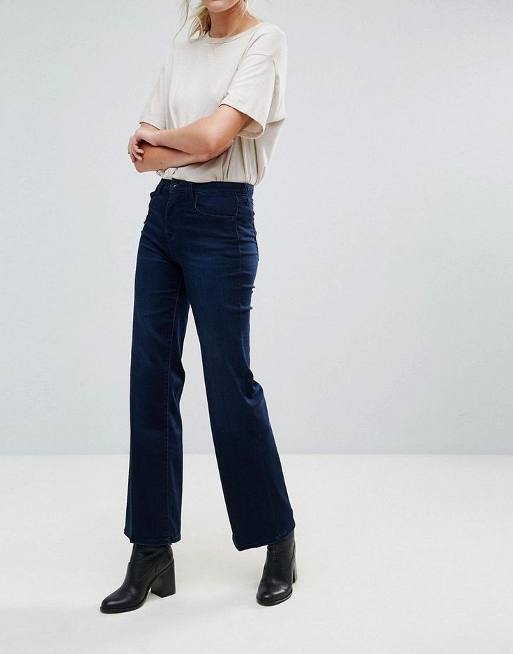 Pepe Jeans New Brooke Bootcut Jeans - Navy