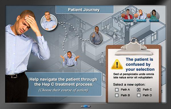 Patient Journey E-Course on Behance