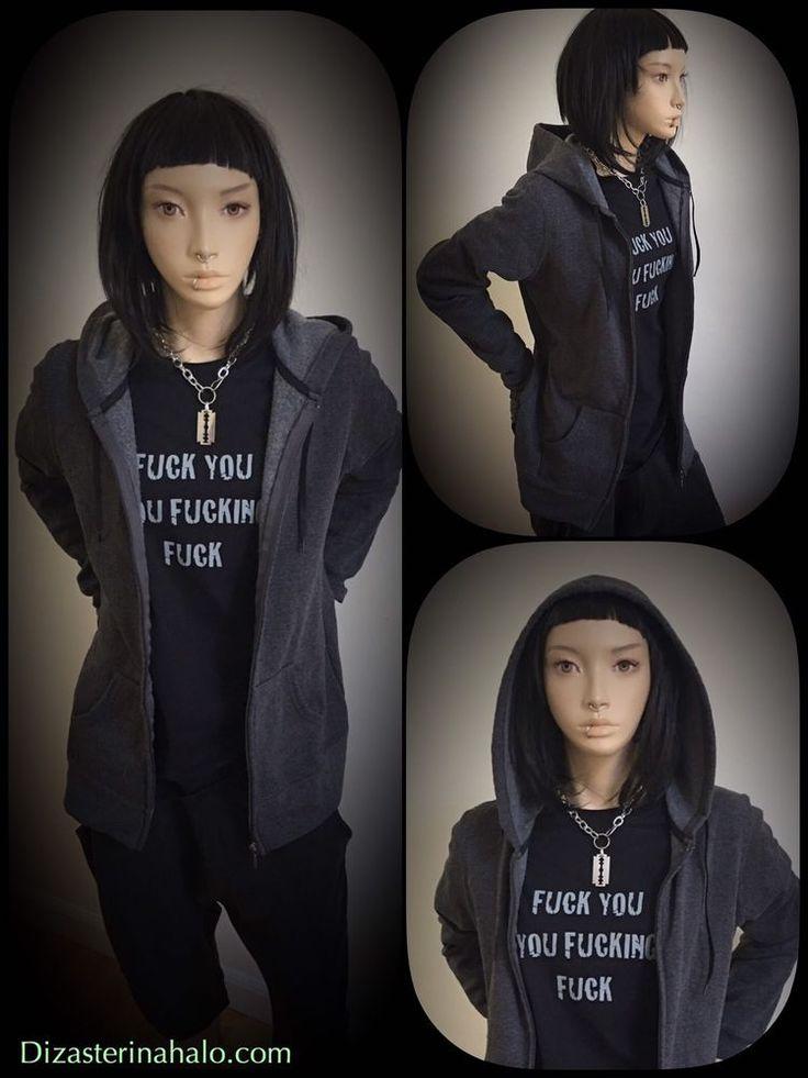 #LisbethSalander Shirt and standard Hoodie Set get it now #rooneymara #alternative #grunge #pastel #harajuku #kawaii #altgirl #quotes #pastelgoth #tshirts #giftideas #gothic #alternative