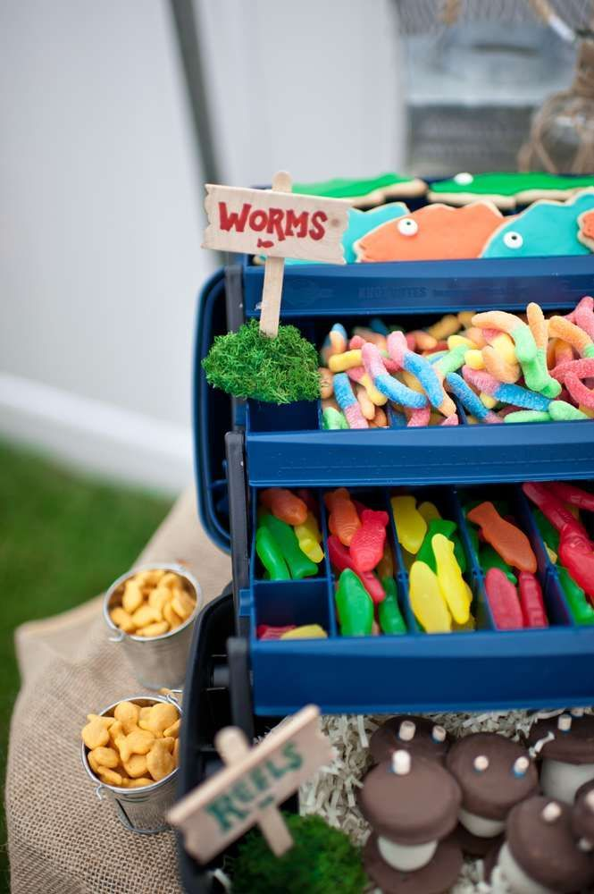 Best 25 gone fishing party ideas on pinterest fishing for Fishing birthday party