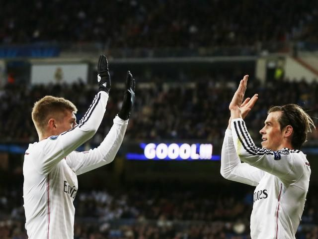 Kroos and Bale <3