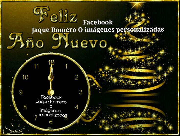 Pin de Jaqueline Del Moral Romero en Feliz Año nuevo/Happy
