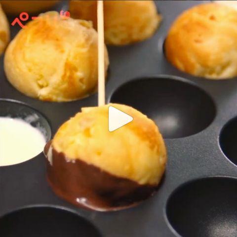 【レシピ動画】たこ焼き器アレンジレシピ「ポップケーキ」 : ベストレシピ速報 | 料理・グルメまとめ