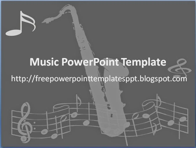 15 Best Music Ppt Template Images On Pinterest Ppt Template
