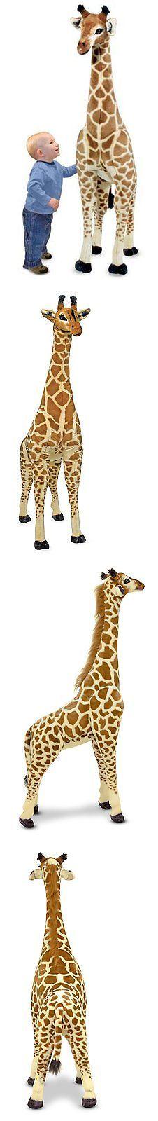 Melissa and Doug 158785: Melissa Doug Giant Giraffe - Lifelike Stuffed Animal (Over 4 Feet Tall) -> BUY IT NOW ONLY: $90.82 on eBay!
