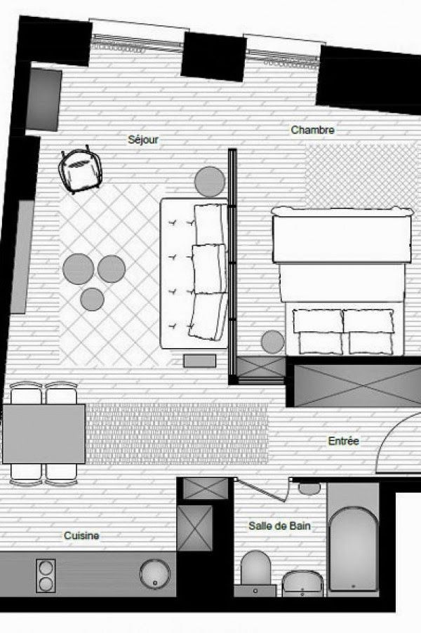 84 best small houses images on pinterest small houses - Appartement sombre solutions ...