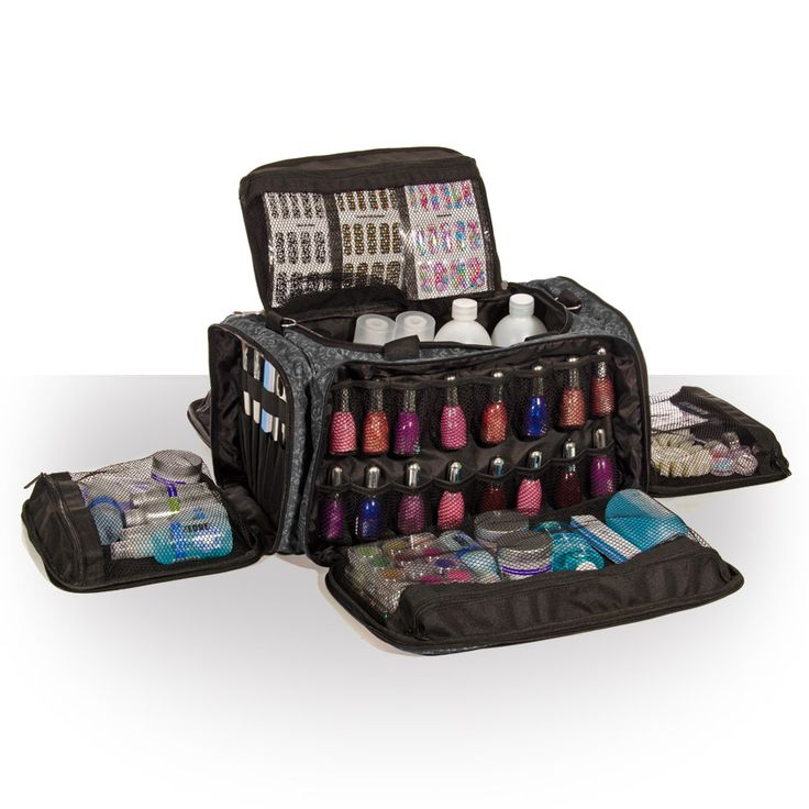 Glamour Session Bag - IMPERIAL BLACK | Nail Technician Bags