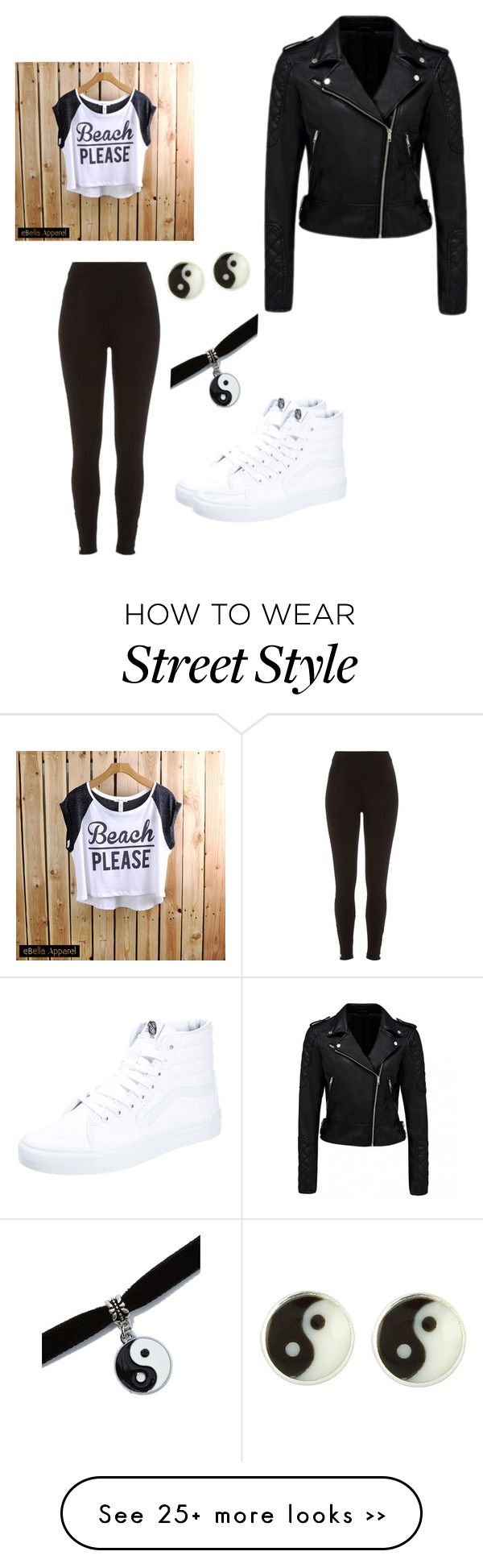 """School outfit #1"" by zryeal on Polyvore"