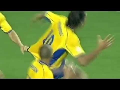 IBRAHIMOVIC INSANE GOAL VS ITALY - YouTube