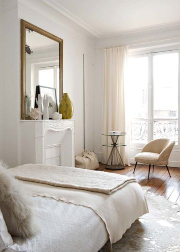 Elegant off-white bedroom || @pattonmelo