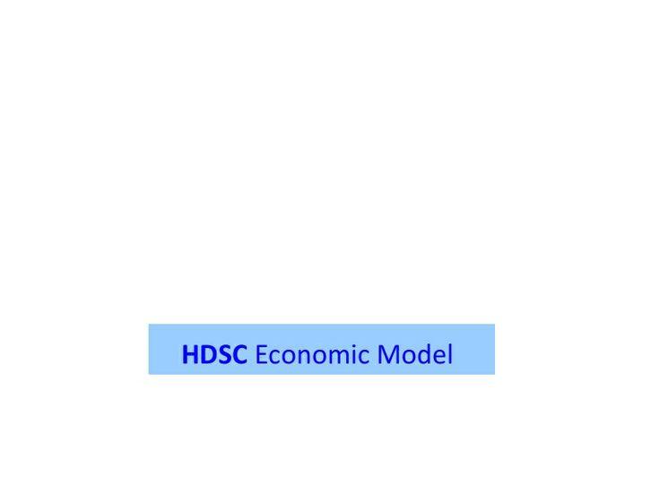 HDSC Economic Model