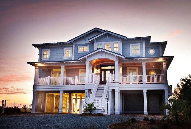 1000 ideas about beach house exteriors on pinterest for Beach cottage exterior design