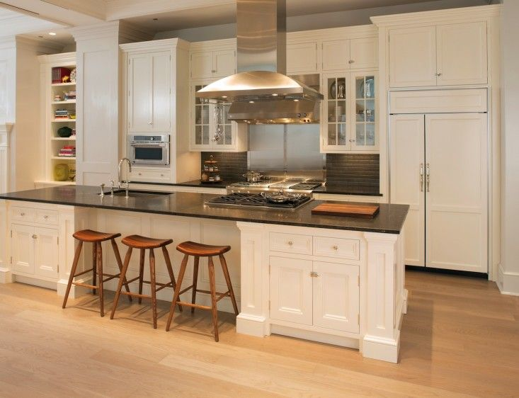 1000 images about kitchen island ideas on pinterest for White kitchen light wood floors