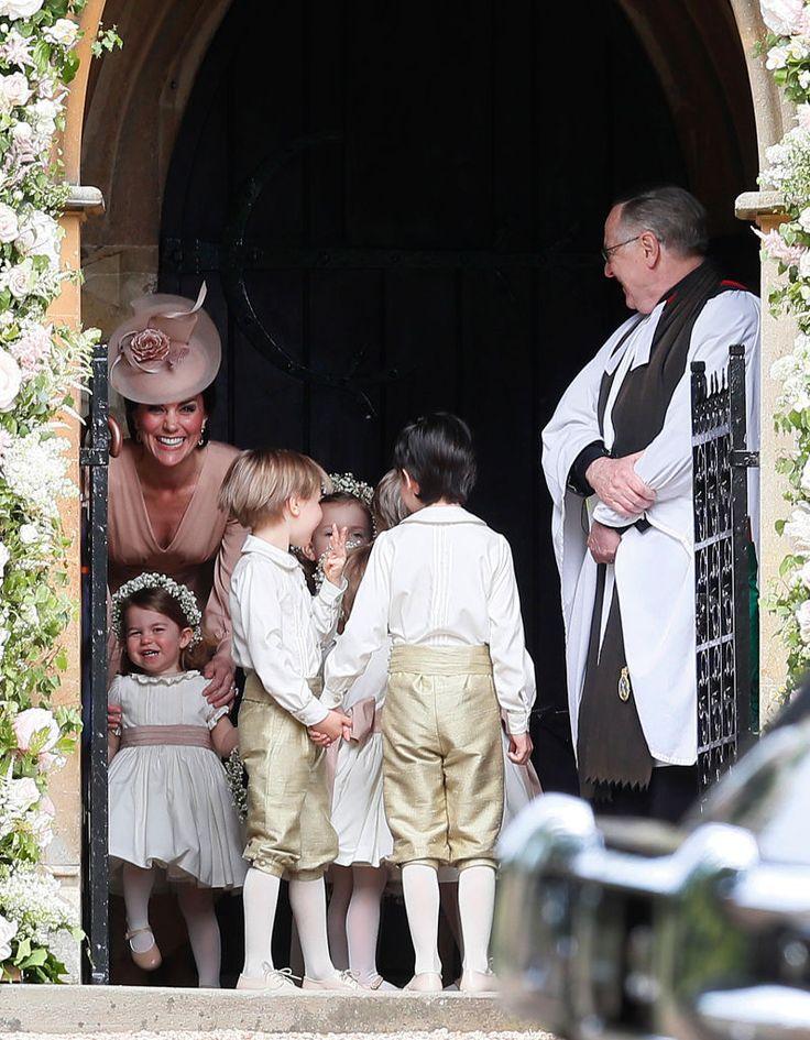 A cara brava de Kate Middleton no casamento da irmã não tem preço | MdeMulher