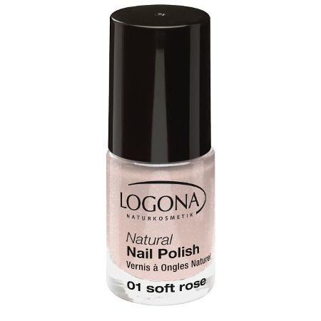Logona: Natural Nail Nagellack (4 ml): Logona: Farbe: Nagellack 01 soft rose