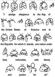 for your kiddos to do when they say the pledge every morning- my girls will LOVE this!