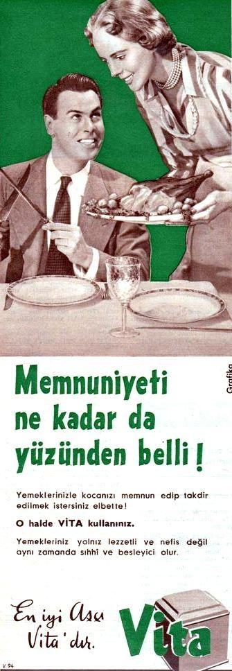 OĞUZ TOPOĞLU : en iyi aşçı vita'dır 1960 senesi nostaljik eski ma...