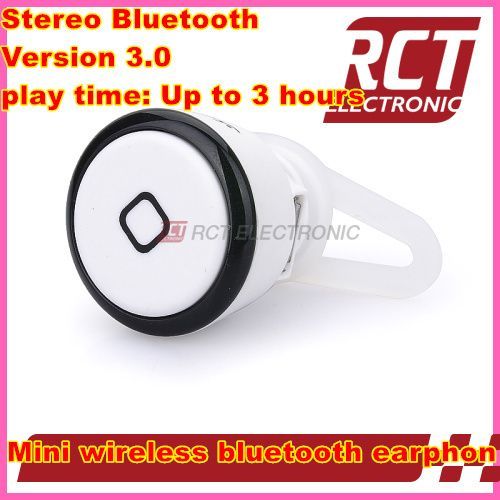 """Mini Wireless Bluetooth V3.0 Headset Earphone for HTC for LG G3 for iPhone 6 4.7"""" Plus 5.5"""" 5S 5 for Samsung Galaxy S5 S4 Note 3"""