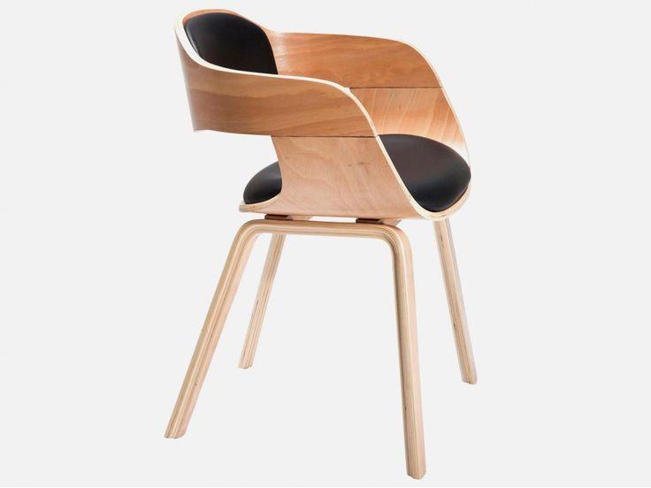 Krzesło Costa jasne drewno buk — Krzesła Kare Design — sfmeble.pl