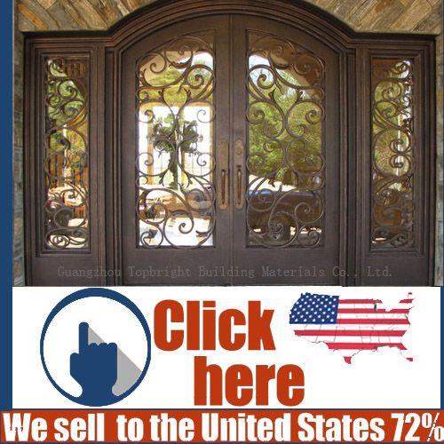 Foto de Porta de aço da porta do ferro feito da segurança do preço barato em pt.Made-in-China.com