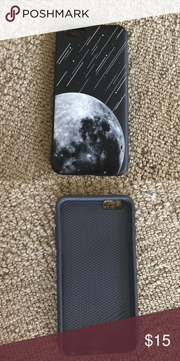 rhinoshield moon meteor phone case black rhinoshield 6 plus case with moon and meteors Accessories Phone Cases