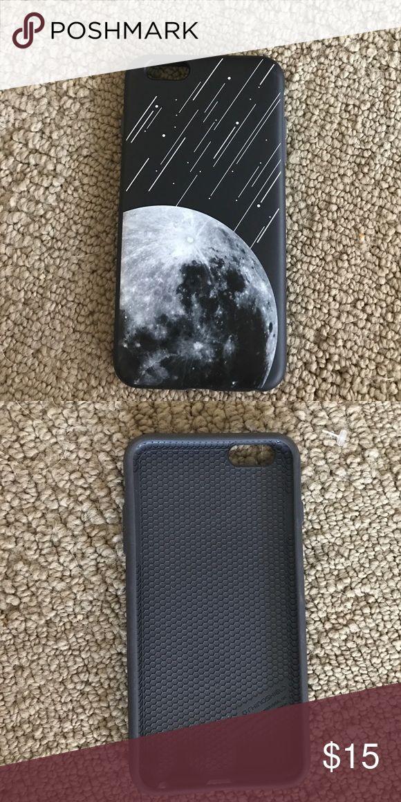rhinoshield moon meteor phone case black rhinoshield 6 plus case with moon and meteors Accessories Phone Cases