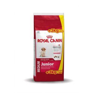 Royal Canin Medium Junior 153 kg gratis  Description: Royal Canin Volume Aanbieding Medium Junior Voor pups van middelgrote rassen tot 12 maanden. In slechts 12 maanden tijd neemt het gewicht van een pup van een middelgroot ras snel toe. Het gewicht stijgt met 40 a 50 keer zijn geboortegewicht. Deze snelle groei vereist speciale voeding. Bovendien is de energiebehoefte van pups twee keer zo groot als die van een volwassen hond. Medium Junior bevat calcium en fosfor in de juiste verhouding…