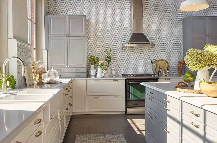 Jillian Harris's kitchen design in Ikea's House of Kitchens competition