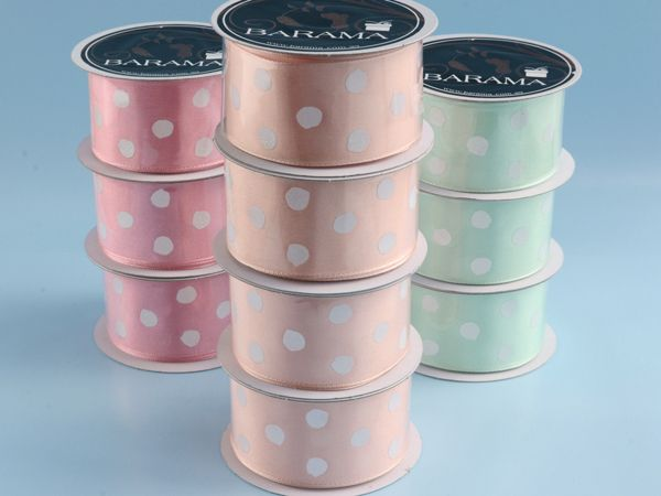 Spotted ribbons - great for so many occasions!