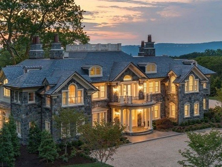 22 Awesome House Exterior Design You Can Check 14 Maanitech Com Dreamhouse Dreamhouseexterior Contemporary Archite House Exterior Stone Mansion Mansions