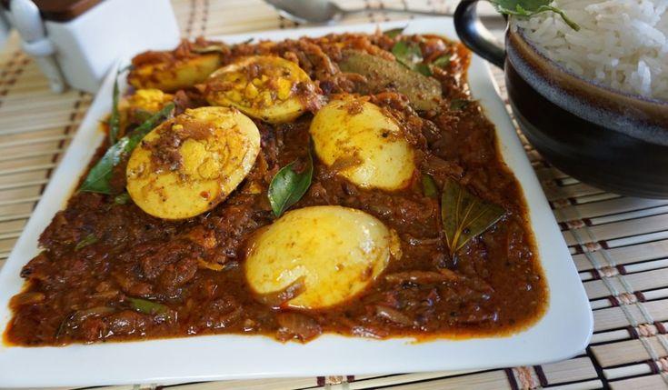 Chettinad Egg Curry / Gravy