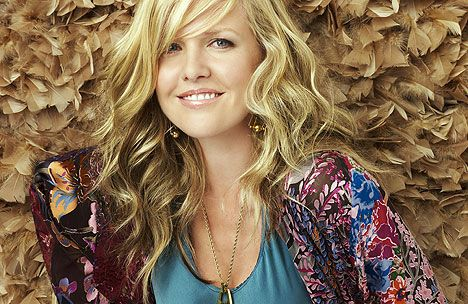 Actress Ashley Jensen born in Annan, south west Scotland