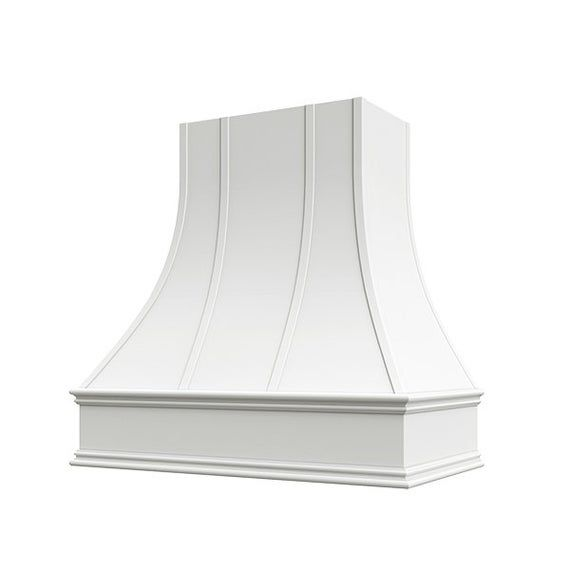 White Epicurean Artisan Style Kitchen Hood Liner Blower Etsy In 2020 Kitchen Hoods Kitchen Hood Design Kitchen Styling