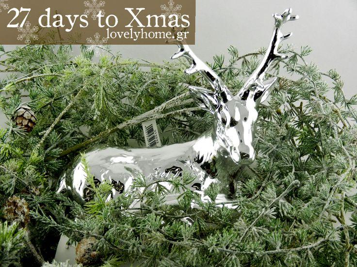 27 μέρες μέχρι τα Χριστούγεννα! Συνεχίζουμε να μετράμε αντίστροφα και να ψάχνουμε ωραίες ιδέες και όμορφα δώρα για τις γιορτές που πλησιάζουν!