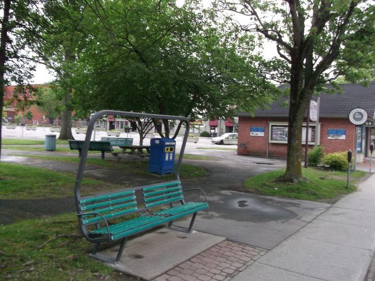 """""""Parc des braves"""" (Magog,Quebec,Canada)"""