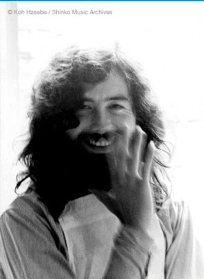 Jimmy Page, September 27, 1971 - Hiroshima, Japan by koh Hasobo / Shinko Music Archivos.