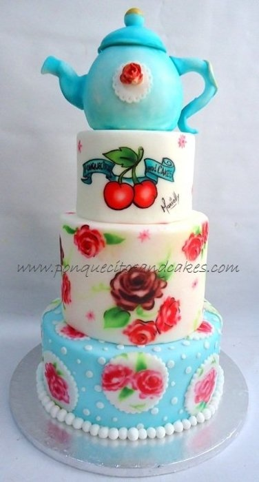 Cake Decorating Airbrush Paint : 91 best Airbrush images on Pinterest Airbrush cake, Cake ...